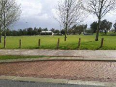 Settlers Hills , cricket oval .. open air movie nights held here in summer and Footy matches etc ..